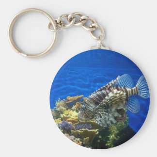 Lion Fish Keychain