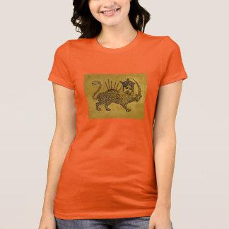 Lion Flag Design T-Shirt