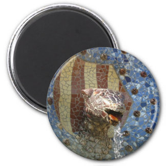 Lion Fountain Magnet
