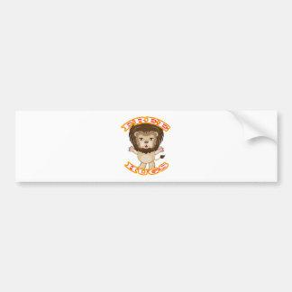 Lion Free Hugs Bumper Sticker