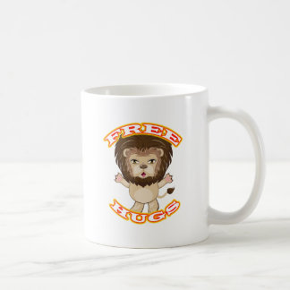 Lion Free Hugs Coffee Mug