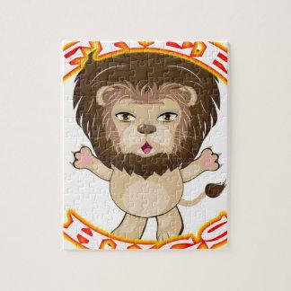 Lion Free Hugs Jigsaw Puzzle