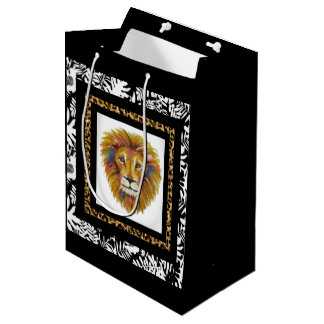 Lion Gift Bag Two
