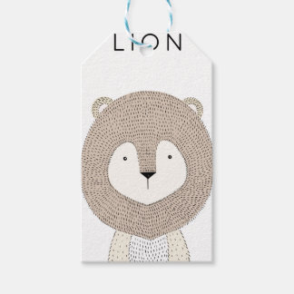 Lion Gift Tags