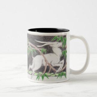 Lion & Goat Mug