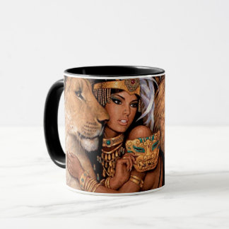 Lion Goddess Egyptian Princess Mug