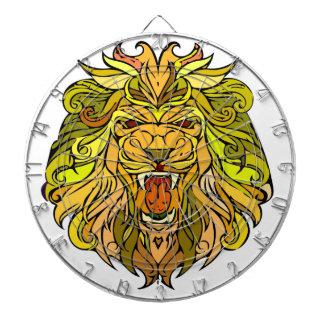 Lion graphic design dart boards