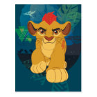 Lion Guard | Kion Safari Graphic Postcard