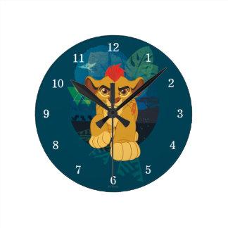 Lion Guard | Kion Safari Graphic Round Clock