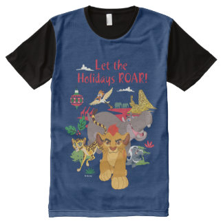 Lion Guard | Let The Holidays Roar All-Over-Print T-Shirt