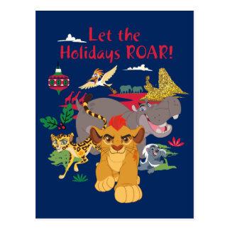 Lion Guard | Let The Holidays Roar Postcard
