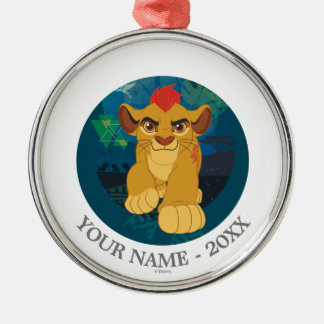 Lion Guard | Simba Add Your Name Metal Ornament