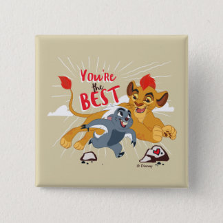 Lion Guard | You're the Best Valentine 2 Inch Square Button