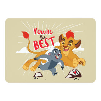 Lion Guard | You're the Best Valentine Card