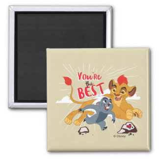 Lion Guard | You're the Best Valentine Magnet