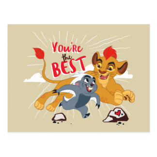 Lion Guard | You're the Best Valentine Postcard