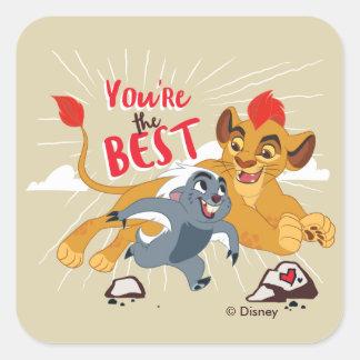 Lion Guard | You're the Best Valentine Square Sticker