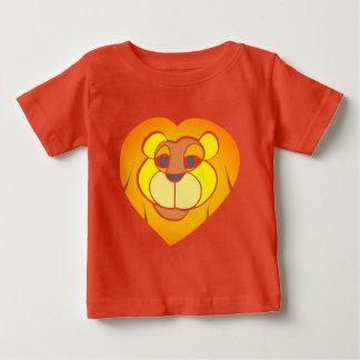 Lion Head Baby Fine Jersey T-Shirt