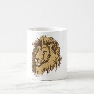 Lion head custom mug