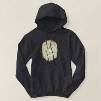Lion Head Embroidered Hoody