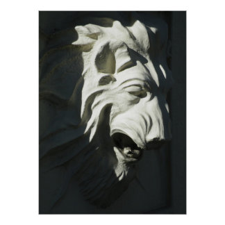 Lion Head Poster