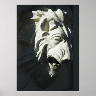 Lion Head Poster
