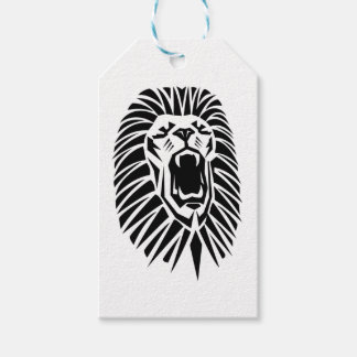 lion head vecto gift tags