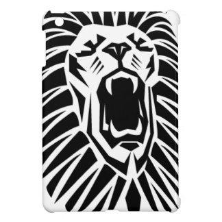 lion head vecto iPad mini cases