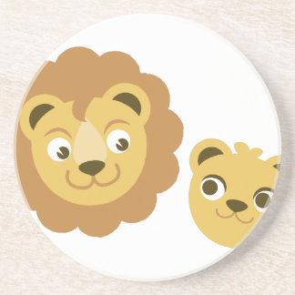 Lion Heads Coaster