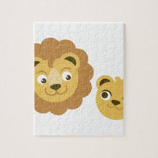 Lion Heads Puzzle