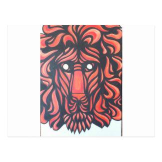 Lion Heart Postcard