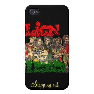 Lion Heart, reggae iPhone 4 Cases