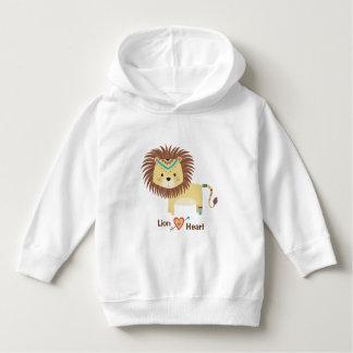 Lion Heart, tribal toddler sweatshirt