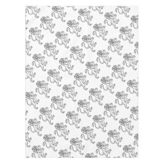 Lion Heraldic Crest Coat of Arms Tablecloth