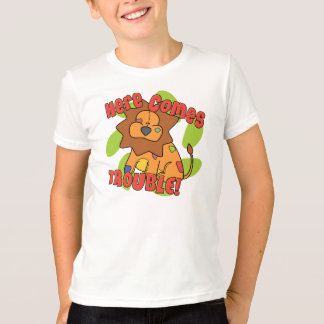 Lion Here Comes Trouble TShirt