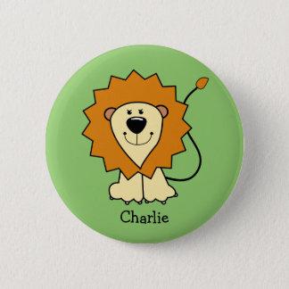 Lion Illustration custom text button