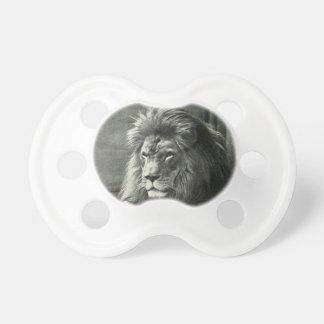 Lion Illustration Pacifier