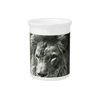 Lion Illustration Pitcher