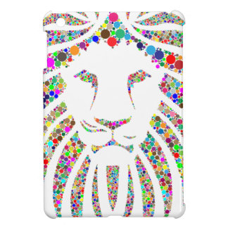 lion in colours iPad mini cases