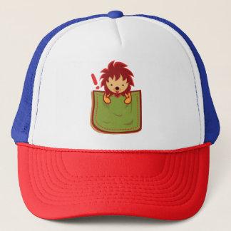 Lion_in_the_Pocket Trucker Hat