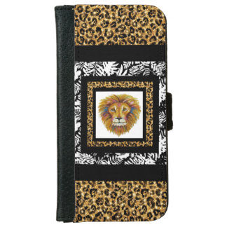 Lion Iphone Wallet Case Two
