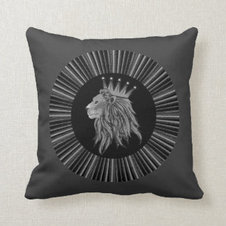 Lion - Jungle King Throw Pillow