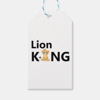 lion king gift tags