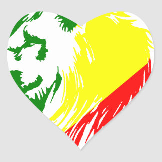 LION KING HEART STICKER