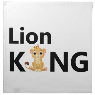 lion king napkin