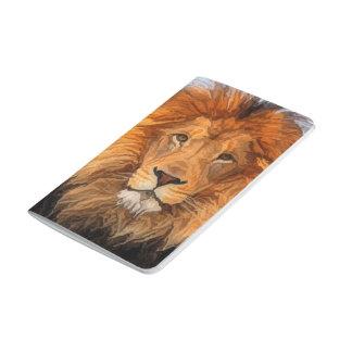 Lion King of Beasts Big Cat Field Journal Notebook