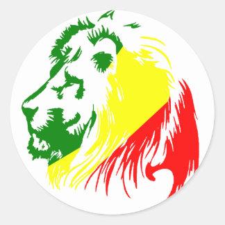 LION KING ROUND STICKER