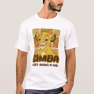 "Lion King Simba cub ""just being a cub"" Disney T-Shirt"