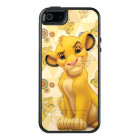 Lion King | Simba on Triangle Pattern OtterBox iPhone 5/5s/SE Case