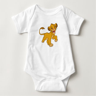Lion King Simba walking Disney Baby Bodysuit
